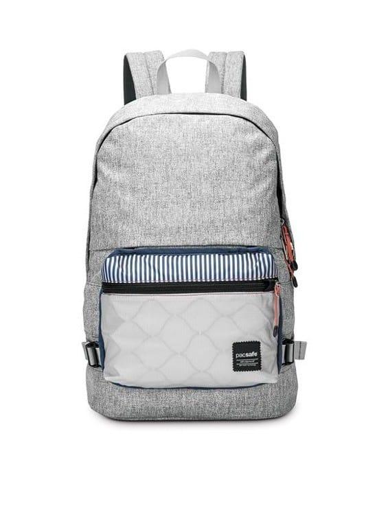 71ddadbd70001 Pacsafe 20l Slingsafe LX400 Tweed Grey - Plecak miejski antykradzieżowy