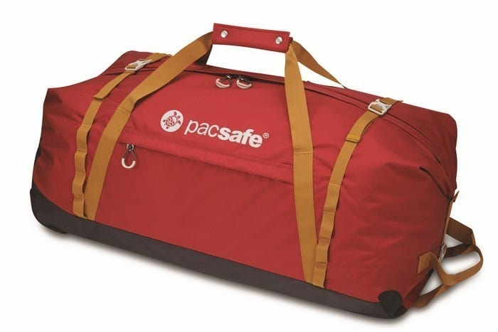 b86eb05413043 Pacsafe Duffelsafe AT120 - czarna torba podróżna na kółkach 120L ...