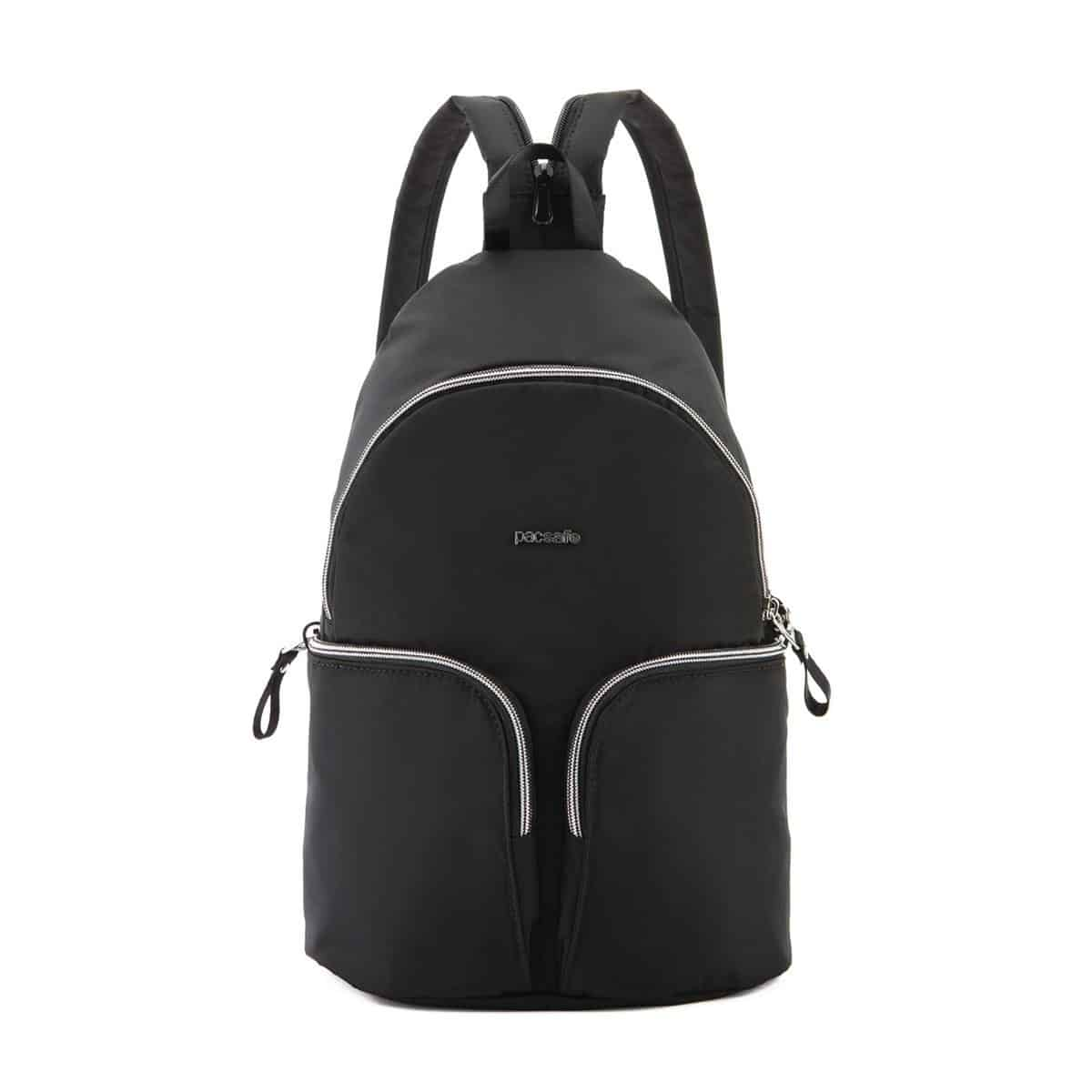 db6bc355f1868 Pacsafe Stylesafe sling czarny - Plecak damski antykradzieżowy
