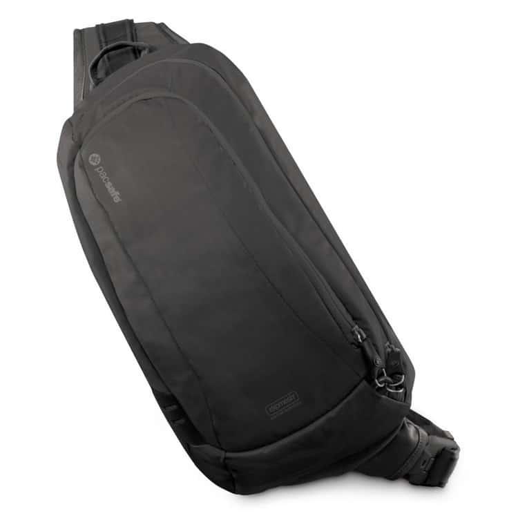 8a04bf3bb5f50 Pacsafe VentureSafe 325 GII - Plecak jednoramienny antykradzieżowy saszetka  czarna