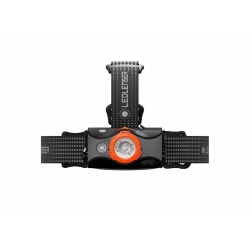 Latarka Ledlenser MH7 black/orange