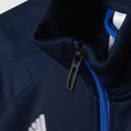 a35ba4234 ... Bluza treningowa adidas TIRO 17 PES JR granatowo-niebieska BQ2610  -240238 ...
