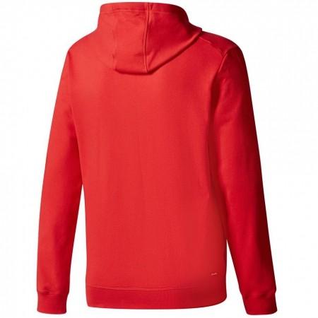 Adidas Bluza Tiro 17 Hoody Czerwona Bp6105