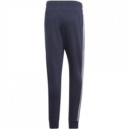 Spodnie adidas Essentials 3 Stripes Tapered Pant FT Cuffed granatowe DU0478