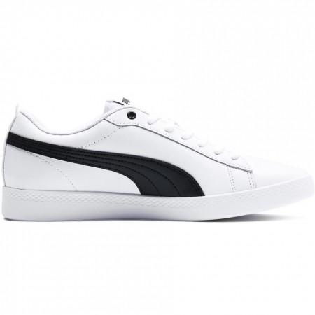 Buty damskie Puma Smash Wns v2 L biało czarne 365208 01