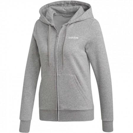 Bluza damska adidas W Essentials Linear FZ HD różowa EI0664 XL